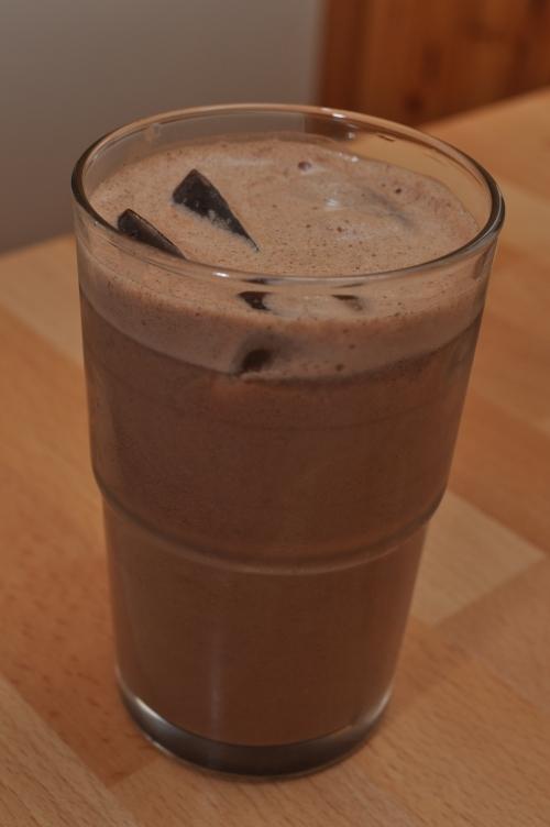 raw sjokolademelk