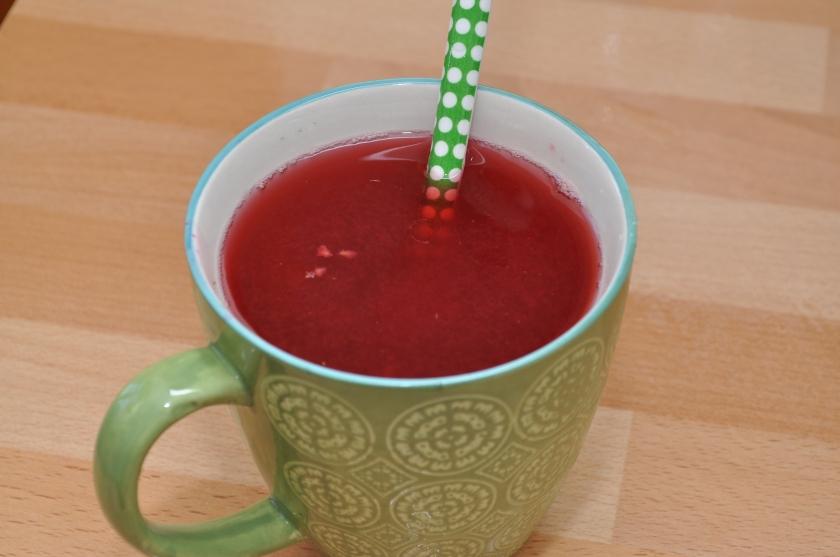 bringebæreliksir med gelatin